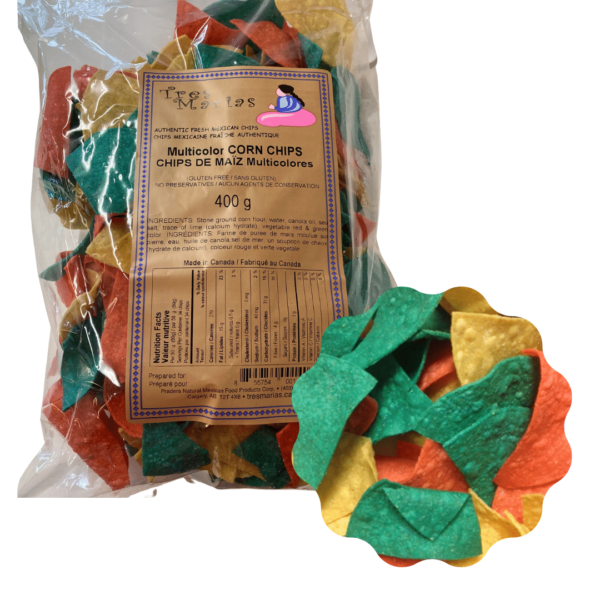 Corn Chips Multicoloured